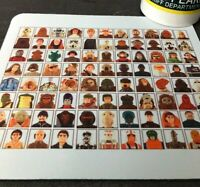 Star Wars Kenner Palitoy Vintage Action Figures Toys 70's Retro Mouse Pad Mat