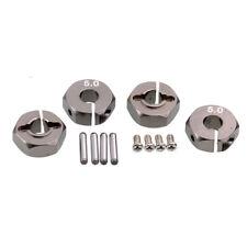 RC HSP HPI Gray Aluminum 5.0 Wheel Hex Drive With Pins Screws 4P For Tamiya Car