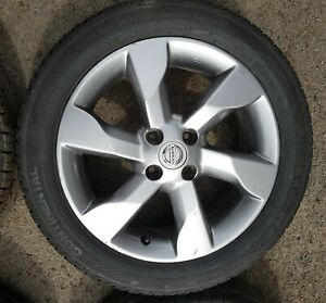 """NISSAN NOTE MK1 16"""" ALLOY WHEEL WITH TYRE -Continental 185/55 R16 -4 Available"""