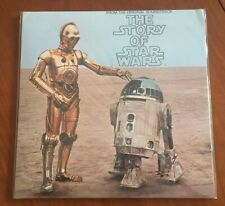 The story of Star Wars Vinyl LP 33t Japan