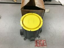 NEW IN BOX HUBBELL ROUND PLASTIC FLOOR BOX PFB1