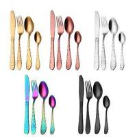 Stainless Steel Cutlery Set 16/8/4 Pcs Dinnerware Fork Spoon Tableware