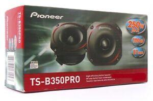 """PIONEER TS-B350PRO PRO Series 3.5"""" 250 Watt Bullet Tweeters PAIR Brand New"""