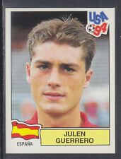 Panini - USA 94 World Cup - # 191 Julen Guerrero - Espana (Green Back)