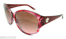 Authentic VERSACE Striped Violet Sunglasses VE 4208 - 927/14 *NEW*