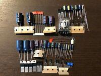 Pioneer SX-1250 Stabilizer Power Supply Protection Recap Kit Capacitor Rebuild