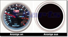 PLASMA Boost guage 52mm 3 BAR Auto gauge GTI RS S OPC Turbo Compressor NEW