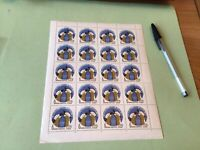 Russia MNH Congress Disarmament & Peace 1962  stamps full sheet folded Ref 51051