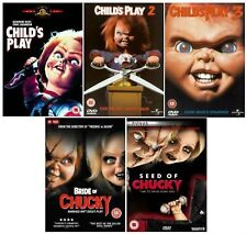 CHUCKY Complete Collection All Movie Film Collection Part 1 2 3 4 5 Bride Curse