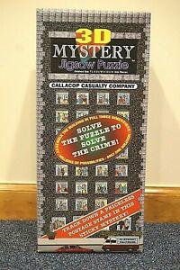 Unique Vintage 3D Mystery Jigsaw Puzzle  Buffalo Games 1994    #002015