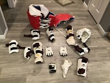 Taekwondo Sparring Gear set KID's 7 PC Complete Deluxe Karate Protectors Guards