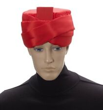 Red Mens Adult Deluxe Arabian Prince Sultan Costume Turban