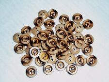 Lot of 50 pcs Small Wooden Buttons 12 mm (15/32 inch)