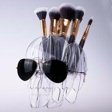 Acrylic Skull Makeup Brush Holder LIMITED EDITION ITEM