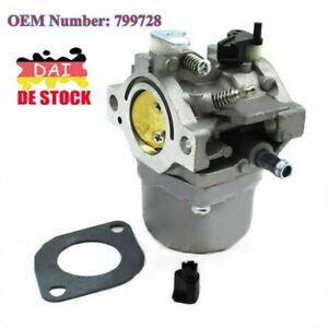 DE Carb Vergaser Für Briggs & Stratton 12,5 PS Motor 799728 498027 498231 499161
