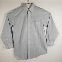 Brooks Brothers Mens Dress Shirt Button Up Long Sleeve 100% Cotton 15.5/32-33