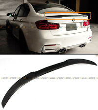 2012-2017 BMW F30 3 Series 335i 328i Carbon Fiber M4 Look Style Trunk Spoiler
