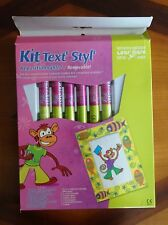 KIT TEXT'STYL' REPOSITIONNABLE