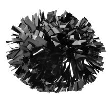 Pizzazz Cheerleading solid color Metallic Pom Pom, fast shipping! Full size pom!
