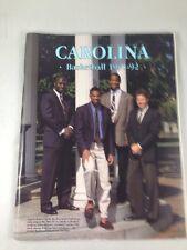 NORTH CAROLINA BASKETBALL 1991-92 MEDIA GUIDE Dean Smith Tarheels
