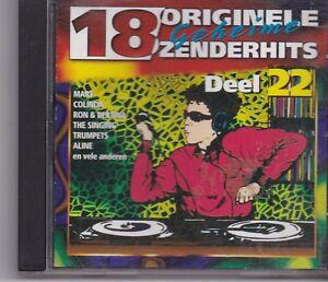 18 Originele Geheime Zenderhits-Deel 22 cd album