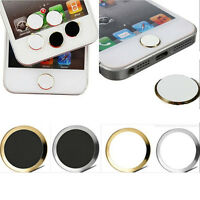 1x Home Button Keyboard Keypad Sticker Case for iPhone 5S 6/6 plus _ws