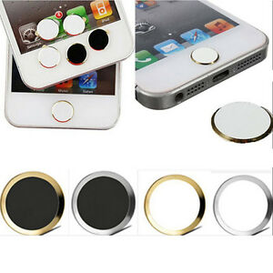 New Aluminium Metal Home button Stickers For iPhone 5S 6/6 plusA.A.AU