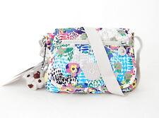 NWT Kipling Sabian Cross-body Mini Bag With Furry Monkey Daisy Dance