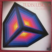 JOEL FAJERMAN  LP ORIG  FR  TURBULENCES  ELECTRO  SYNTH POP