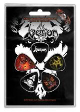 Plettro Set Venom Black Metallo 301436 #