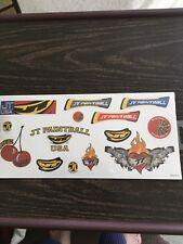 Jt Paintball Sticker Sheet Nos Old School Vintage