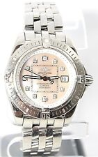 BGB - Breitling Windrider Cockpit Lady ladies watch Diamond hour markers