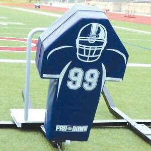 Football Man Sled Pad - Royal Blue