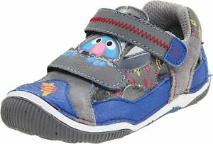 Infant Stride Rite Grover Sesame Street H&L Kids Shoes BB40546 Size 4 Wide