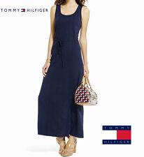 NWT Tommy Hilfiger Ladies Blue Lace Panel Sleeveless Maxi Dress(Size Lrg.)$98.50