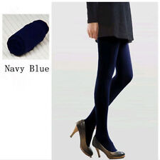 29 Styles Women Winter Solid Opaque Foot Tights Pantyhose Stockings Fall