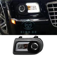 Front Headlight Assembly DRL Bi-xenon Projector Light For Chrysler 300C 2005-13