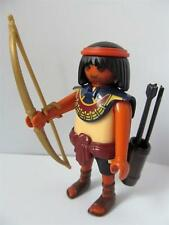 Playmobil Figura Egipcio Romano/: arquero Con Flechas Y Arco dorado Jing Nuevo