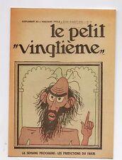 Carte Postale Tintin Le Petit Vingtième n°33 du 16 Août 1934. Cigares Pharaon