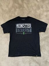 BRAND NEW AUTHENTIC MONSTER ENERGY BLACK T-SHIRT SIZE XL, RARE!