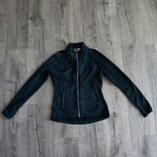 Athleta xs Twilight Run Full Zip jacket reflective thumb holes pockets