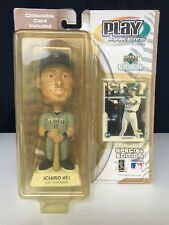 Rare Ichiro Suzuki 2001 Playmakers by Upper Deck Bobblehead + Card Away Uniform