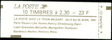 France Carnet Moderne N°2614-C11a Confectionneuse N°9-3 NEUF ** LUXE