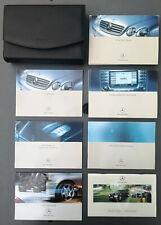 Genuine Mercedes-Benz CL C215 2nd gen owners manual handbook wallet 1999-2006