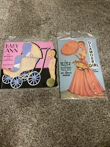 Queen Holden Baby Ann & Her Nursery Clothes Paper Doll & Glamour Girl