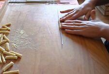 Iron Fusilli, homemade pasta, Iron Pasta Handmade