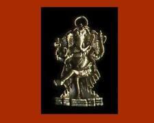Beautiful Bronze Dancing Ganesh Pendant + Large Brass Ganesh Pendant