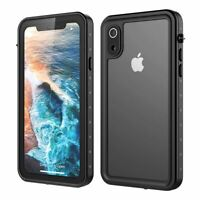 For iPhone Xr 360° Waterproof Dustproof Shockproof Phone Case Protective Cover