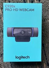 BRAND NEW IN HAND Logitech C920X Pro HD Webcam - Black NEW IN BOX, SEALED!