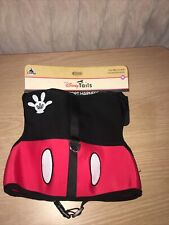 """Disney Tails Dog Size Xl Pet Comfort Harness Mickey Mouse 90-100 lbs 26-28"""" Nwt"""